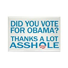Anti-Obama Rectangle Magnet