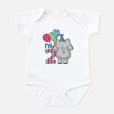 Lil Elephant 2nd Birthday Infant Bodysuit