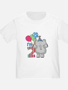 Lil Elephant 2nd Birthday T