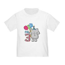 Lil Elephant 3rd Birthday T
