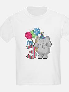 Lil Elephant 3rd Birthday T-Shirt