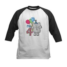 Lil Elephant 4th Birthday Tee
