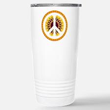 CND Floral6 Travel Mug