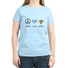 Peace Love UFOs T-Shirt