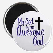 Awesome God Magnet