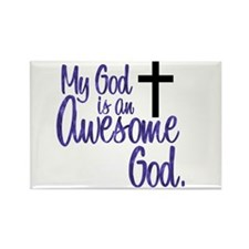 Awesome God Rectangle Magnet (10 pack)