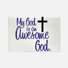 Awesome God Rectangle Magnet