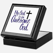Awesome God Keepsake Box