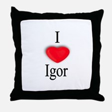 Igor Throw Pillow