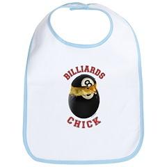 Billiards Chick 2 Bib