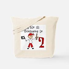 Stick Pirate 2nd Birthday Tote Bag