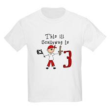 Stick Pirate 3rd Birthday T-Shirt