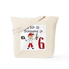 Stick Pirate 6th Birthday Tote Bag