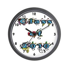 Class of 2010 Wall Clock
