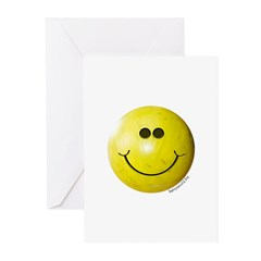 Bowling Smiley Greeting Cards (Pk of 20)