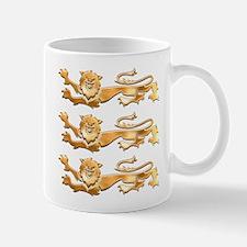 Three Gold Lions Mug