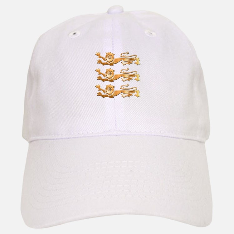 Three Gold Lions Baseball Baseball Cap
