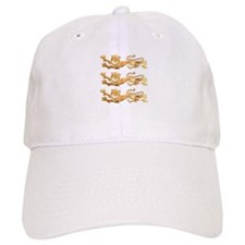 Three Gold Lions Baseball Cap