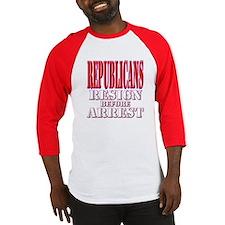 Republicans RESIGN Baseball Jersey