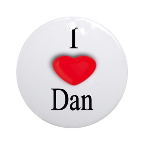 Dan Ornament (Round)