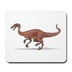 Troodon Dinosaur Mousepad