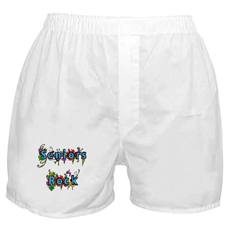 Seniors Rock Boxer Shorts