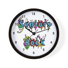 Seniors Rock Wall Clock