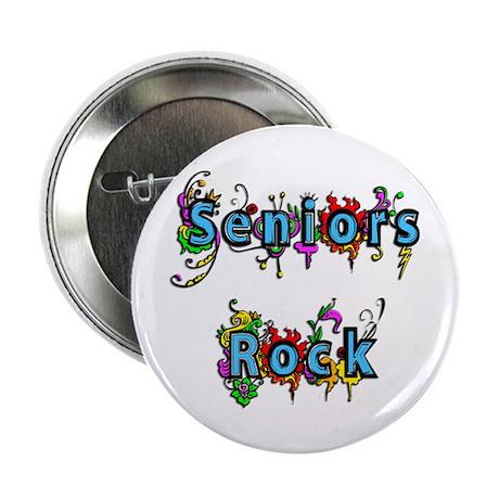 "Seniors Rock 2.25"" Button"