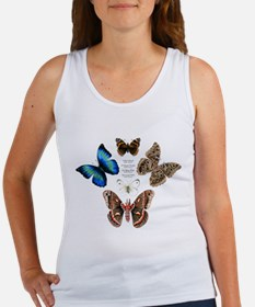 Butterfly and Moth Sampler Women's Tank Top
