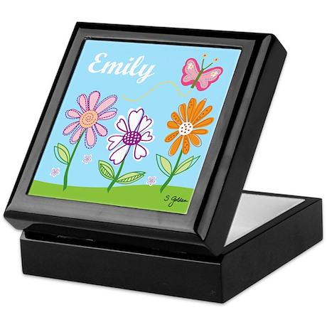 Emily's Garden Keepsake Box