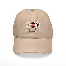 Peace Love Podiatry Baseball Cap