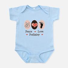 Peace Love Podiatry Infant Bodysuit