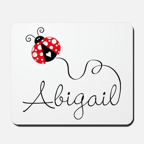 Ladybug Abigail Mousepad