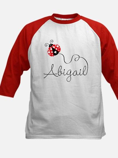 Ladybug Abigail Kids Baseball Jersey
