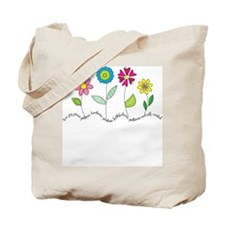 Flower Garden Tote Bag