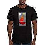 U.S.S. Miguel Men's Fitted T-Shirt (dark)