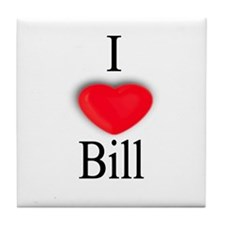 Bill Tile Coaster