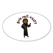Dark Pastor Oval Decal