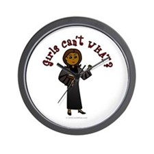 Dark Pastor Wall Clock