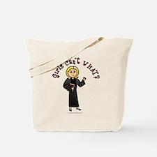 Blonde Pastor Tote Bag