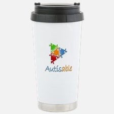 Autisable Logo Travel Mug
