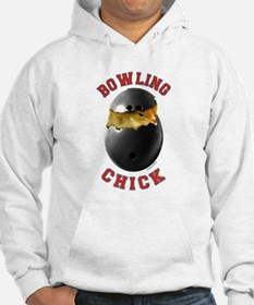 Bowling Chick 2 Hoodie
