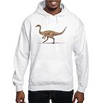 Gallimimus Dinosaur Hooded Sweatshirt
