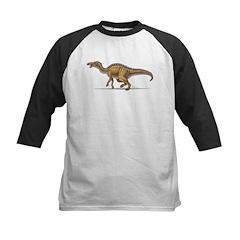 Edmontosaurus Dinosaur Kids Baseball Jersey