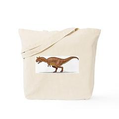 Carnotaurus Dinosaur Tote Bag
