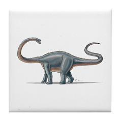 Apatosaurus Dinosaur Tile Coaster
