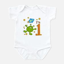Lil Alien First Birthday Infant Bodysuit