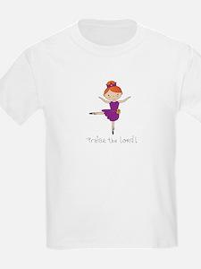 Ballerina Dancer Red Head T-Shirt