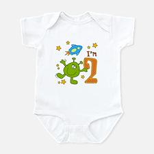 Lil Alien 2nd Birthday Infant Bodysuit
