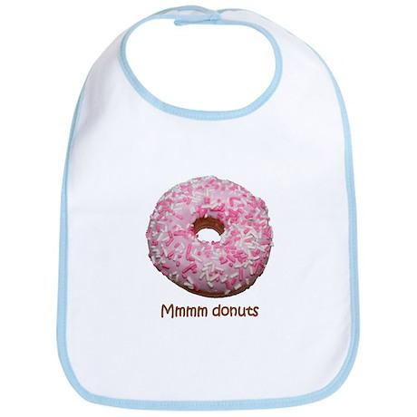 Mmmm donuts Bib